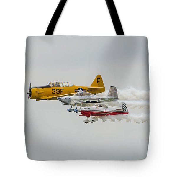 T-6 Texan   Rv-8   Dr-107 Tote Bag