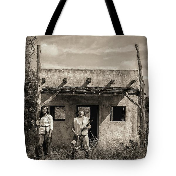T And Frank Tote Bag