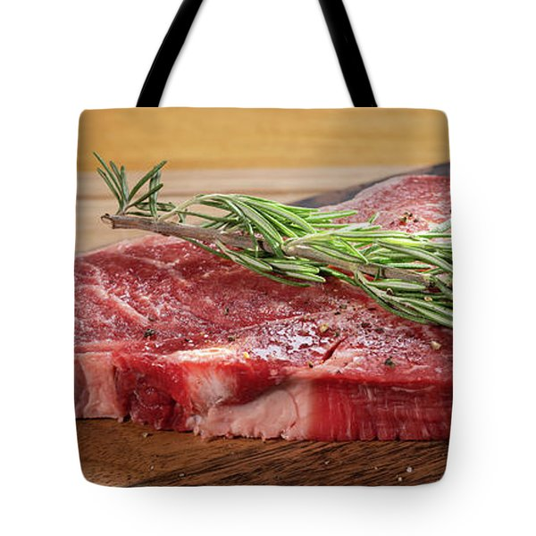 T Bone Steak Prep Tote Bag
