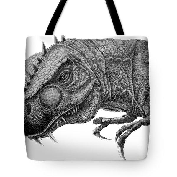 T-rex Tote Bag by Murphy Elliott