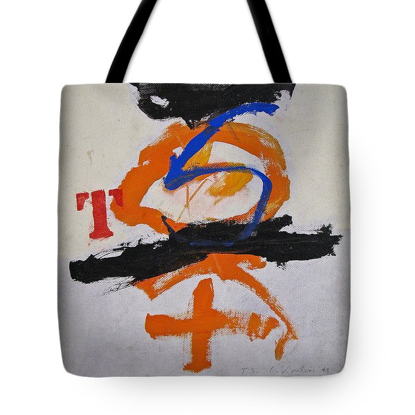 T S Notebook  Tote Bag by Cliff Spohn