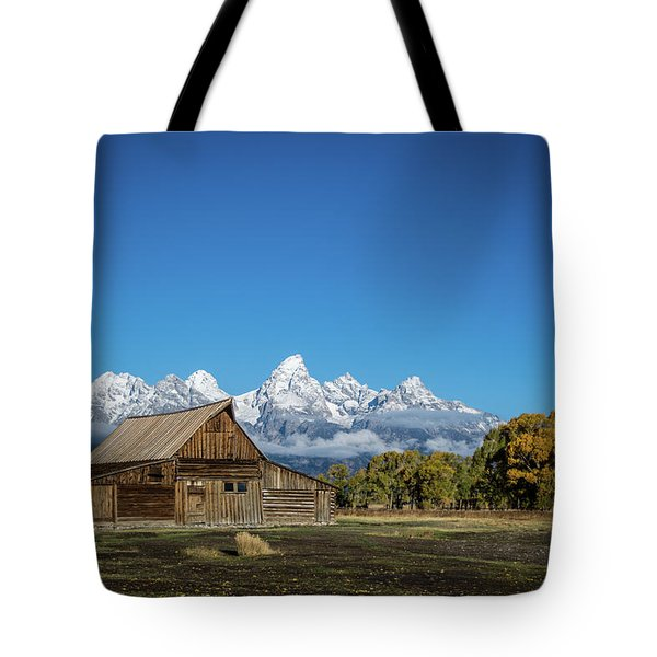 T.a. Moulton Barn Tote Bag by Mary Hone
