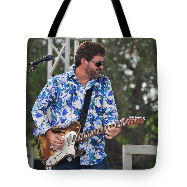 Tab Benoit And 1972 Fender Telecaster Tote Bag