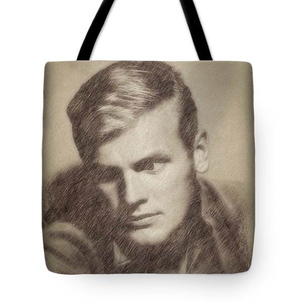 Tab Hunter, Vintage Actor By John Springfield Tote Bag
