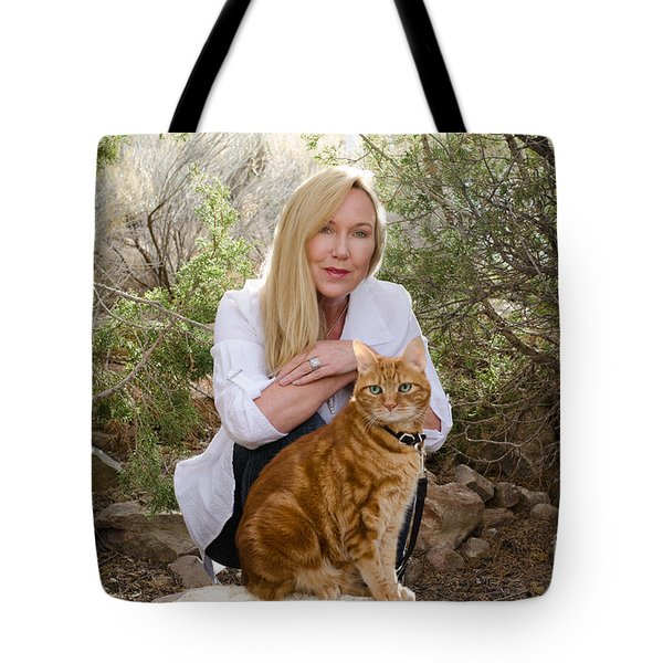 Tabasco And Molly On Meditation Rock Tote Bag