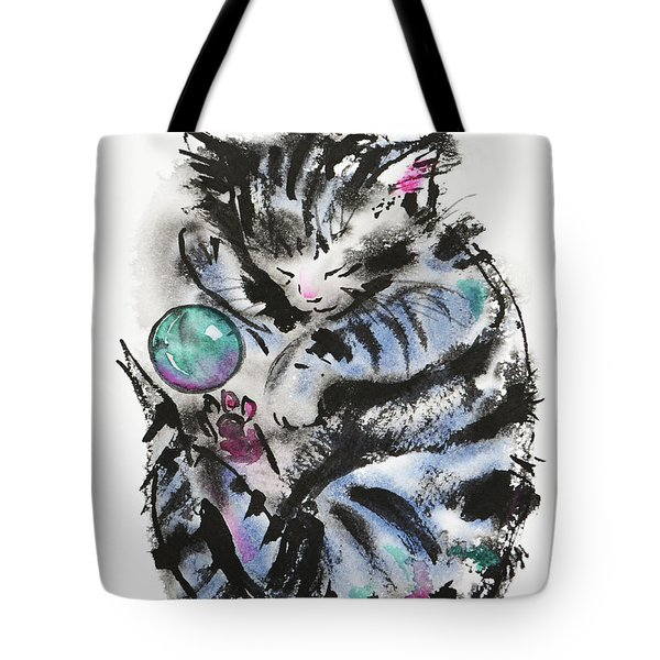 Tabby Dreams Tote Bag