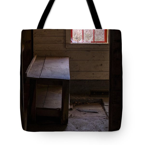 Table And Window Tote Bag