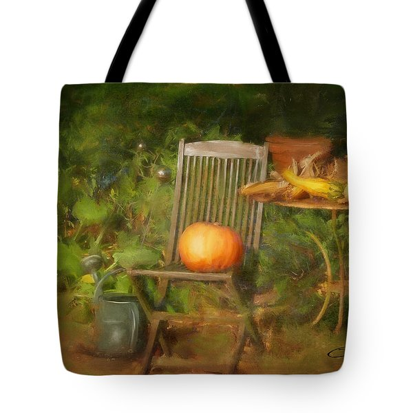 Table For One Tote Bag by Colleen Taylor