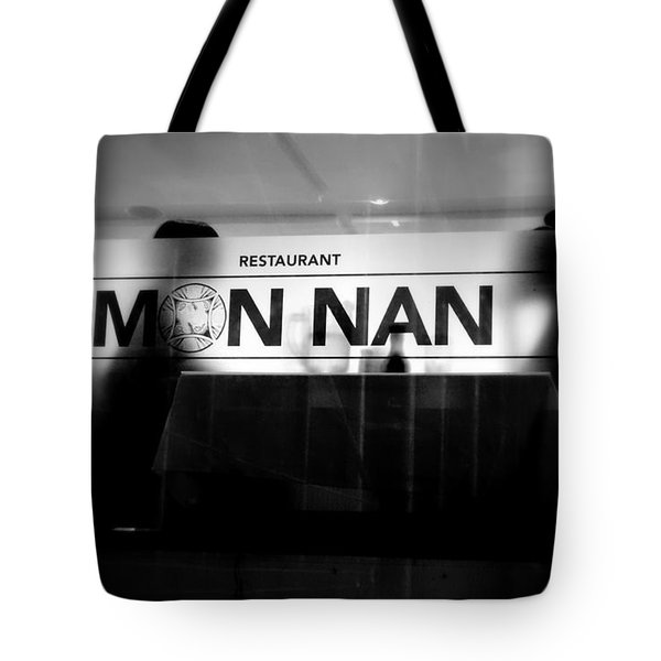 Tote Bag featuring the photograph Table For Two by Valentino Visentini