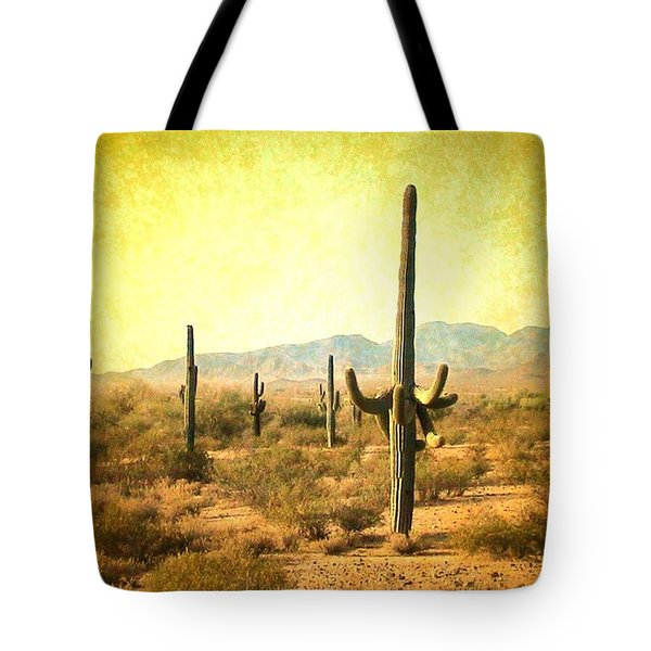 Table Moumtain Vintage Western Tote Bag