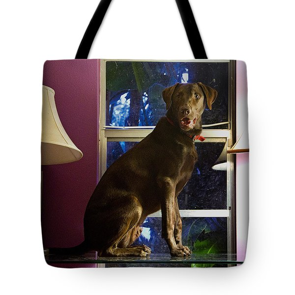 Table Ornament Tote Bag by Roger Wedegis