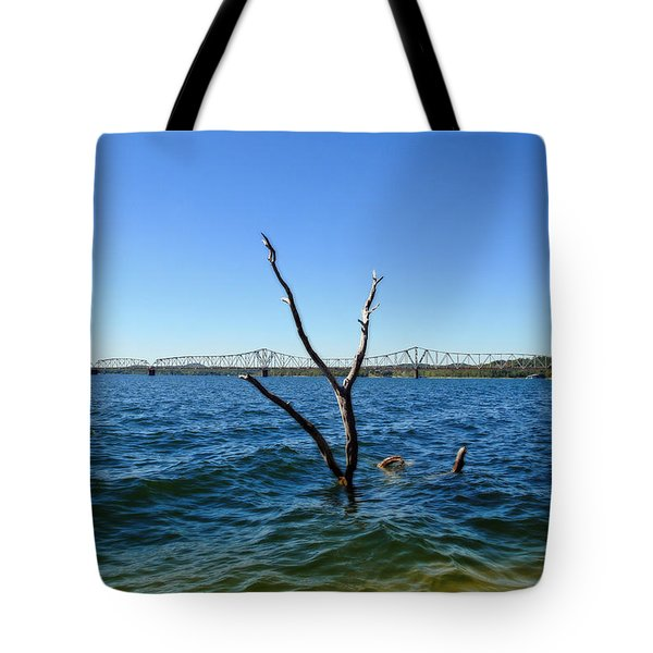 Table Rock Lake Kimberling City Tote Bag