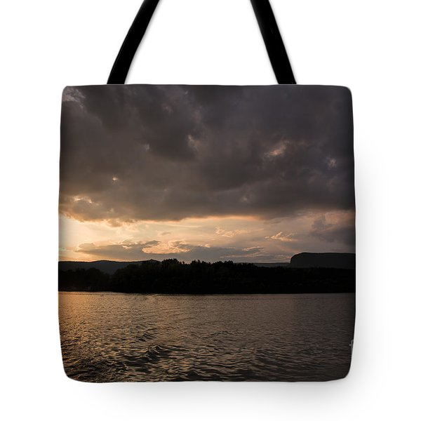 Table Rock Sunset Tote Bag by Robert Loe