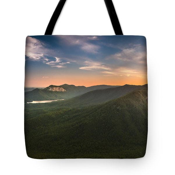 Table Rock Sunset Tote Bag