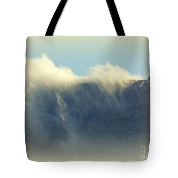 Table Rock With Cloud 2 Tote Bag