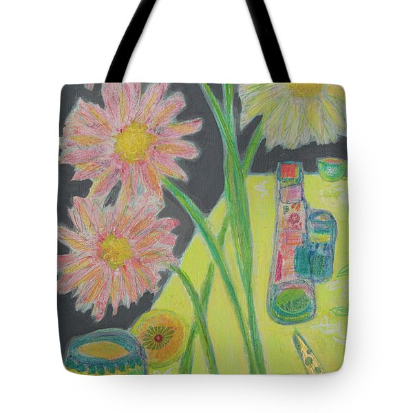 Table Scape Tote Bag