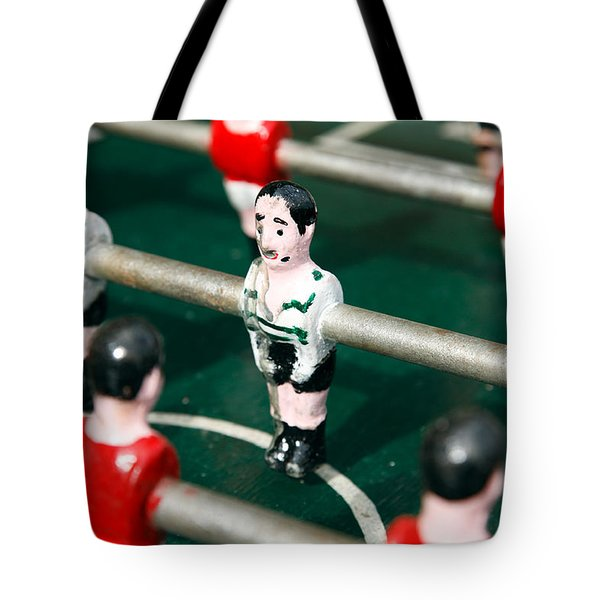 Table Soccer Tote Bag by Gaspar Avila