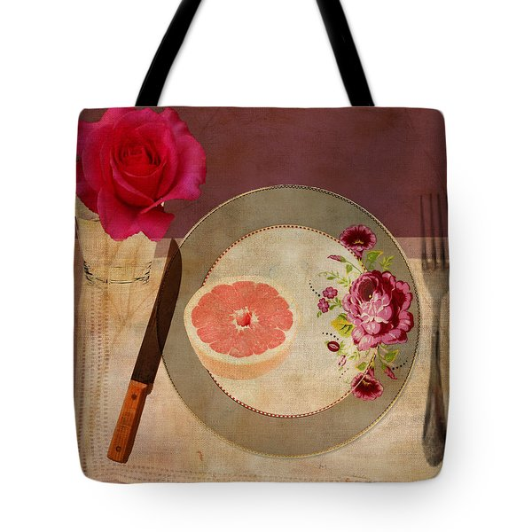 Tablescape Tote Bag