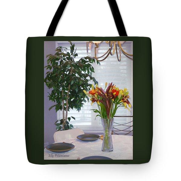 Tabletop Tote Bag