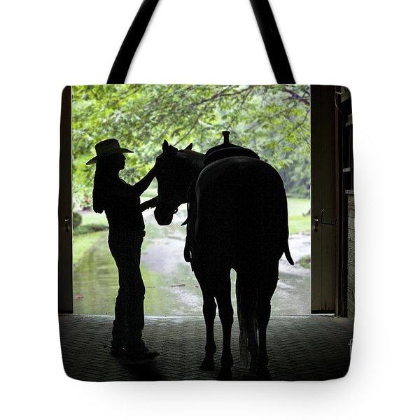 Tackin' Up Tote Bag by Nicki McManus