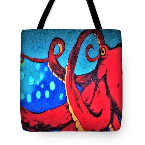 Tacoma Octopus  Tote Bag