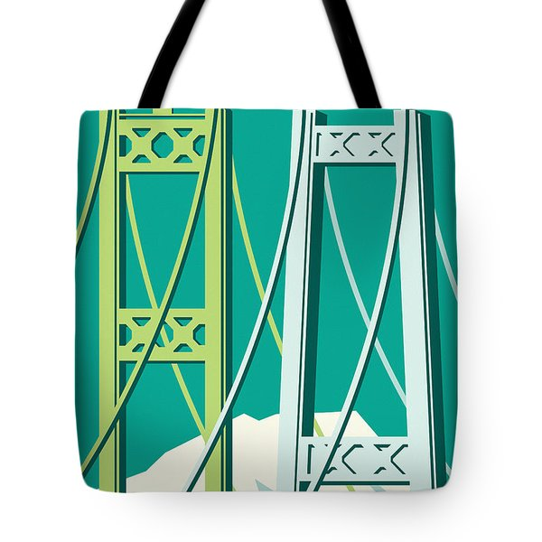 Tacoma Poster - Vintage Style Travel  Tote Bag
