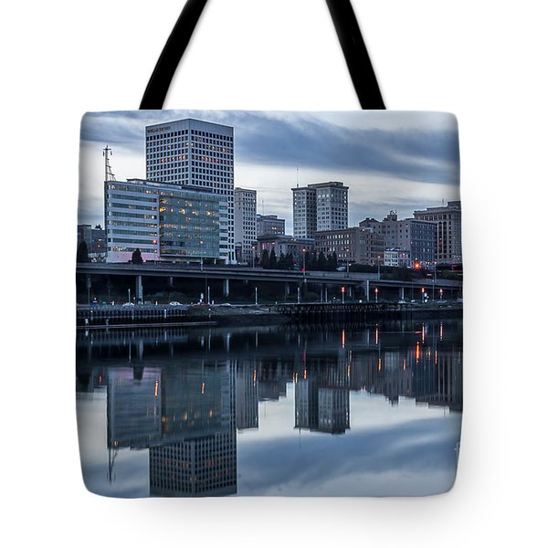 Tacoma Waterfront,washington Tote Bag