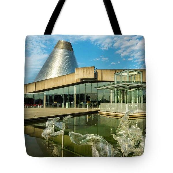 Tacoma's Museum Of Glass  Tote Bag