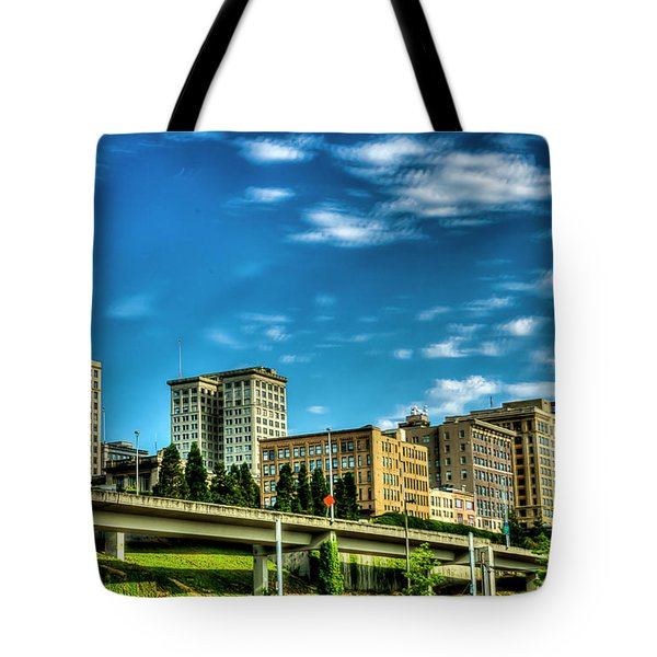 Tacoma,washington.hdr Tote Bag