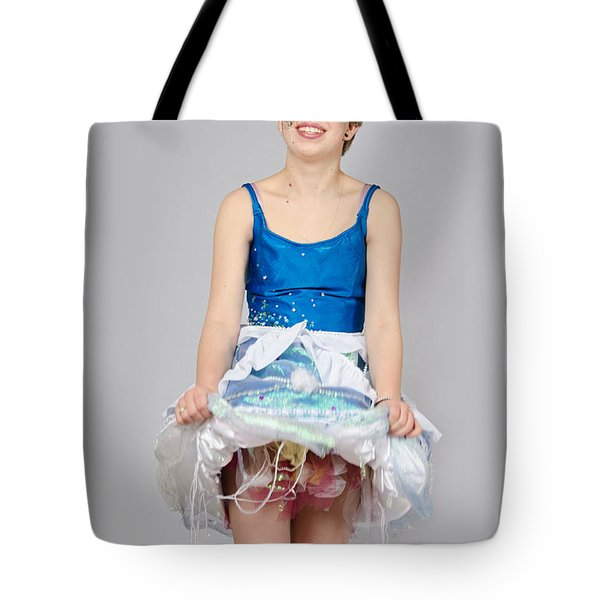 Taetyn In Jelly Fish Dress Tote Bag