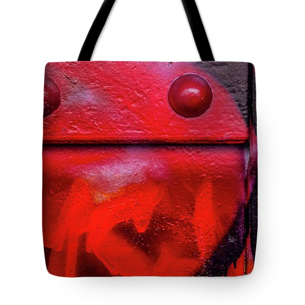 Tagged Metal  Tote Bag