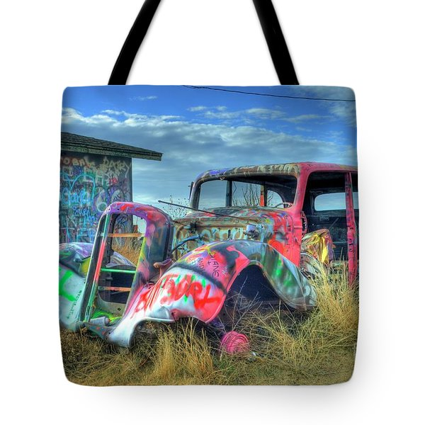 Tagged Tote Bag