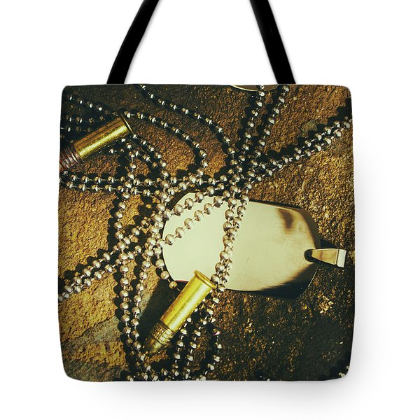 Tote Bag featuring the photograph Tagging The Fallen by Jorgo Photography - Wall Art Gallery