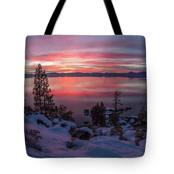 Tahhhhhoe Sunset Tote Bag