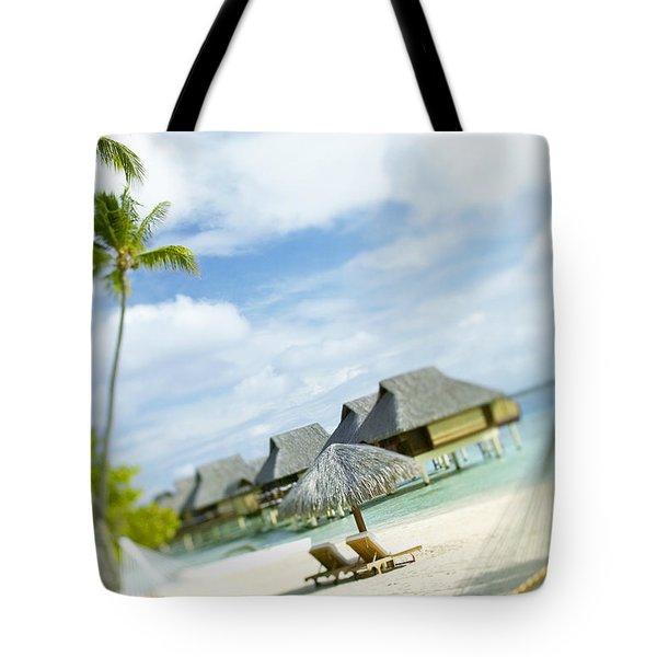 Tahiti, Bora Bora Tote Bag by Kyle Rothenborg - Printscapes