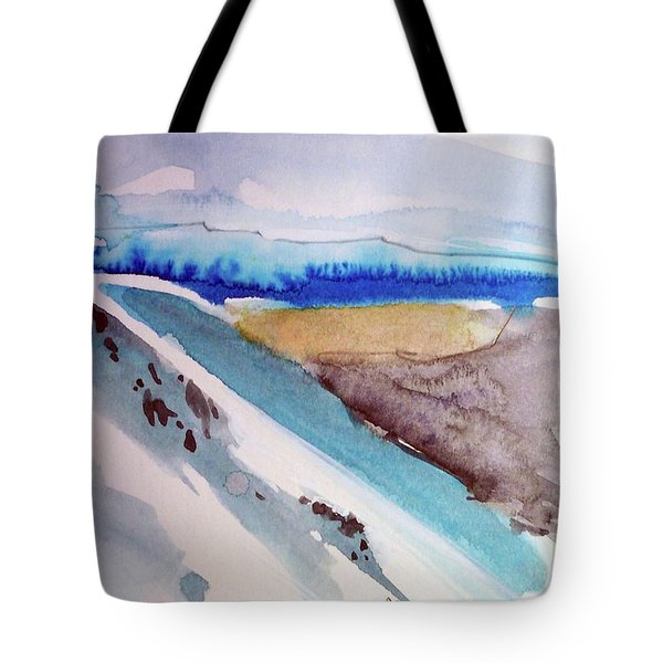 Tahoe City Tote Bag