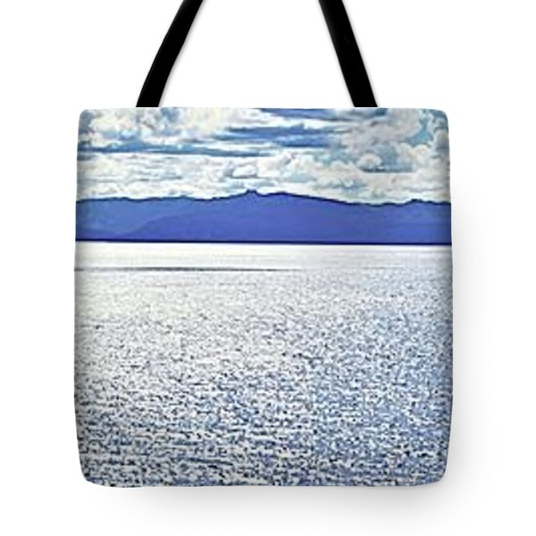 Tahoe From The East Shore Tote Bag