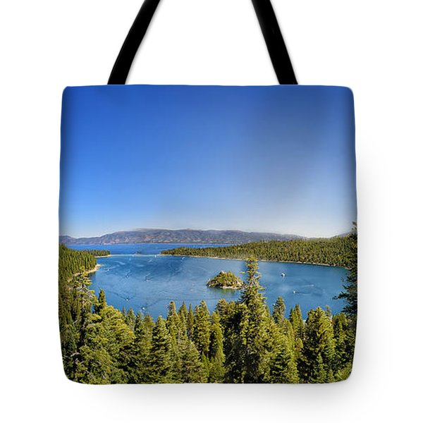 Tahoe Moutain View Tote Bag