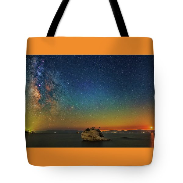 Tahoe Nights Tote Bag