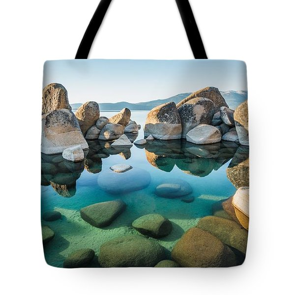 Tahoe Reflections Tote Bag