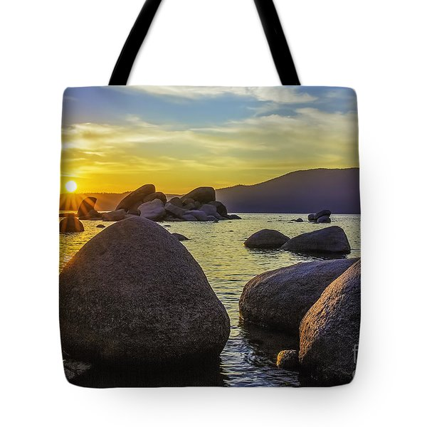 Tahoe Rocks Tote Bag