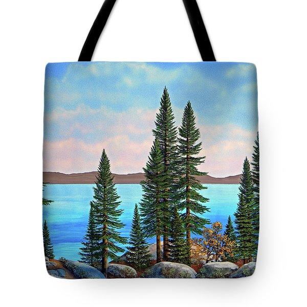 Tahoe Shore Tote Bag