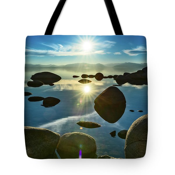 Tahoe Star Tote Bag