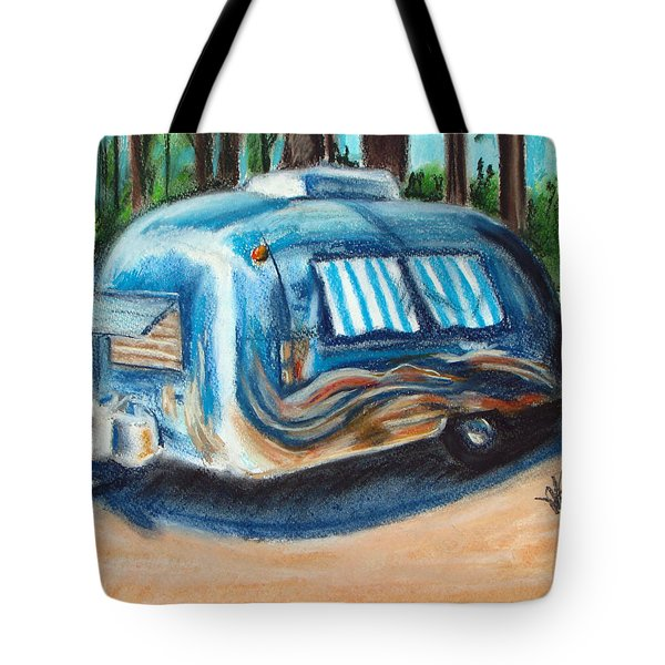 Tahoe Stream Tote Bag