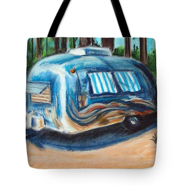 Tahoe Stream Tote Bag
