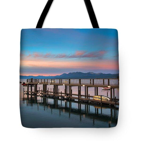 Tahoe Vista  Tote Bag