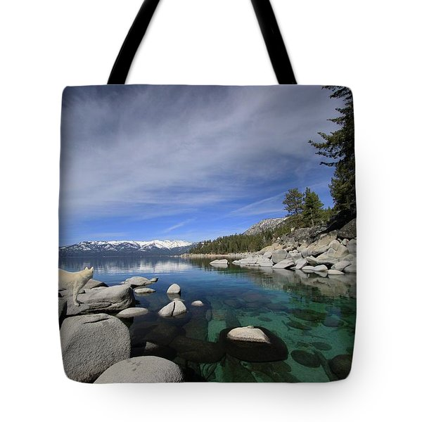 Tote Bag featuring the photograph Tahoe Wow by Sean Sarsfield