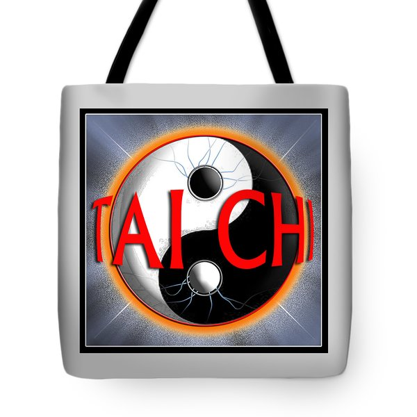 Tai Chi Tote Bag by Steve Sperry
