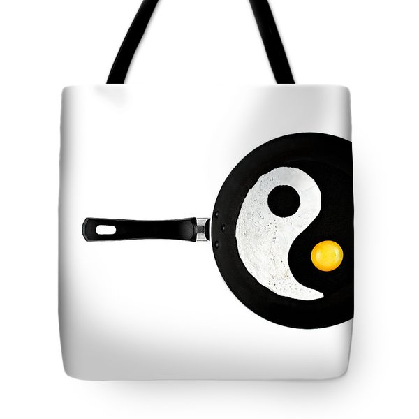 Tote Bag featuring the photograph Taijitu by Gert Lavsen