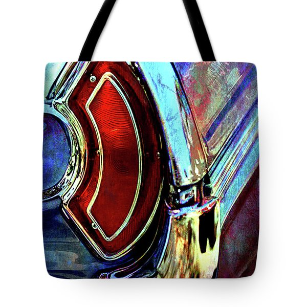 Tote Bag featuring the digital art Tail Fender by Greg Sharpe